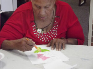 st-johns-community-care-woman-drawing-photo